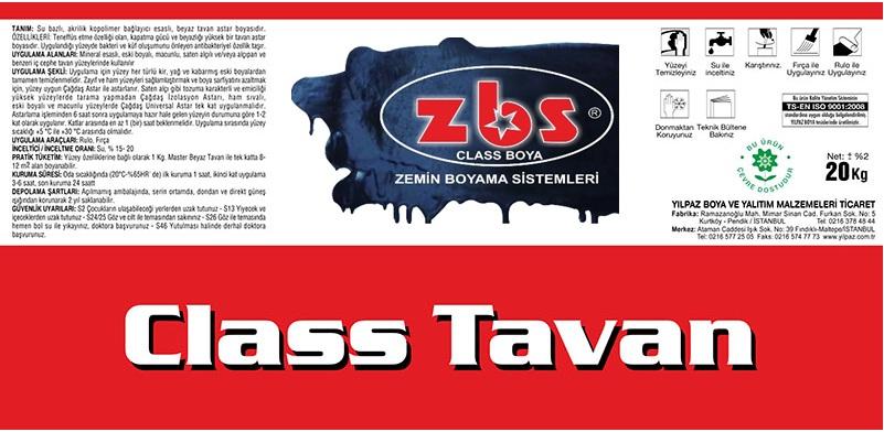 ZBS CLASS TAVAN