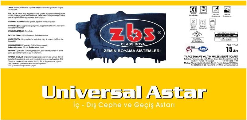 ZBS UNIVERSAL ASTAR