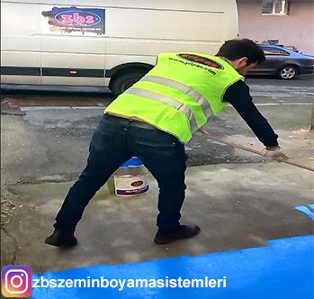 ZBS ile Beton Zemin uygulaması tek katta mükemmel kapatma