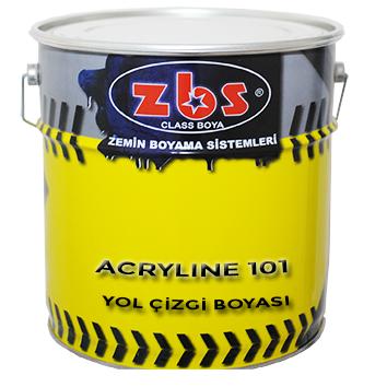 ZBS ACRYLINE 101 YOL ÇİZGİ BOYASI